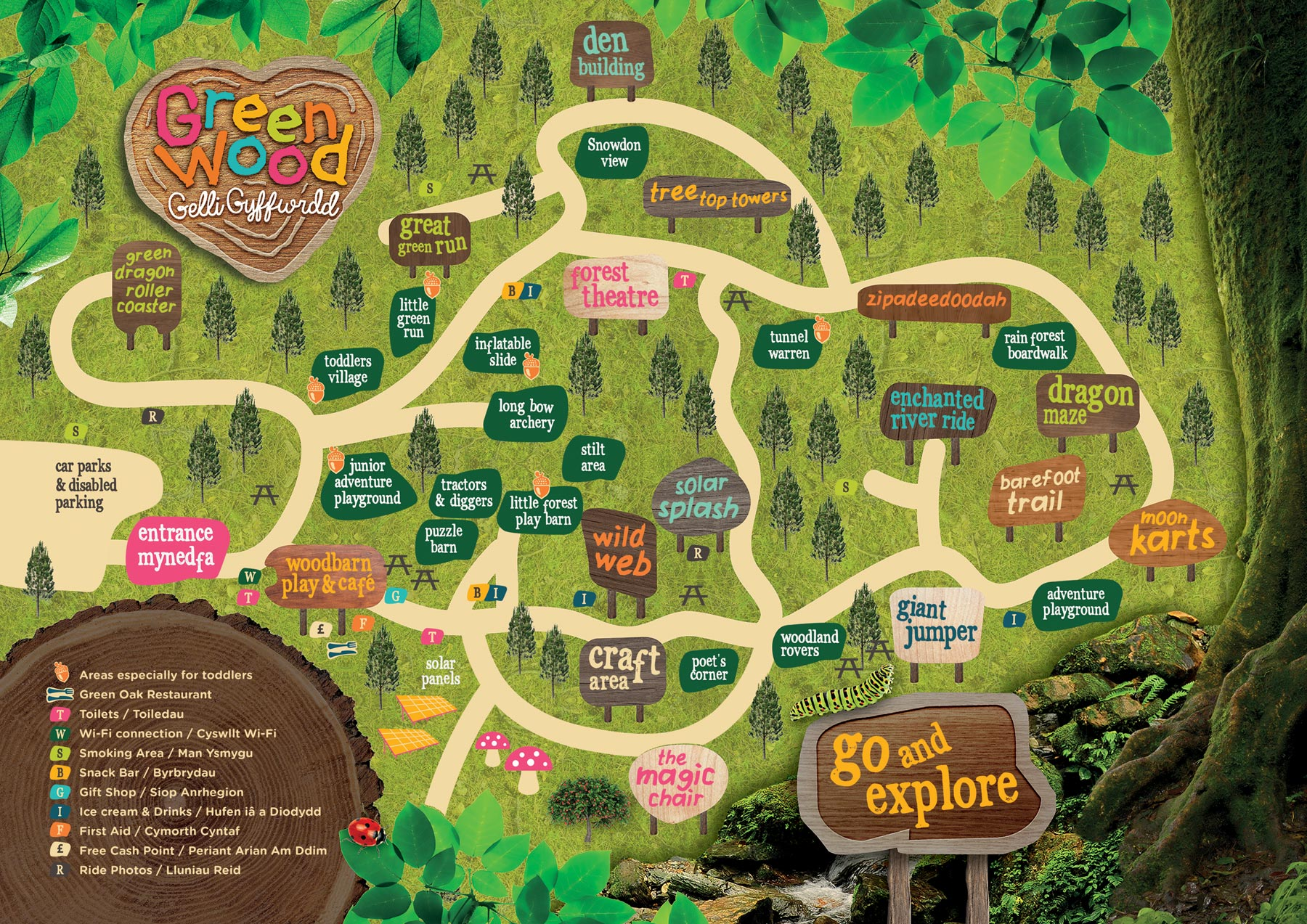 Explore The Map - Greenwood Family Park