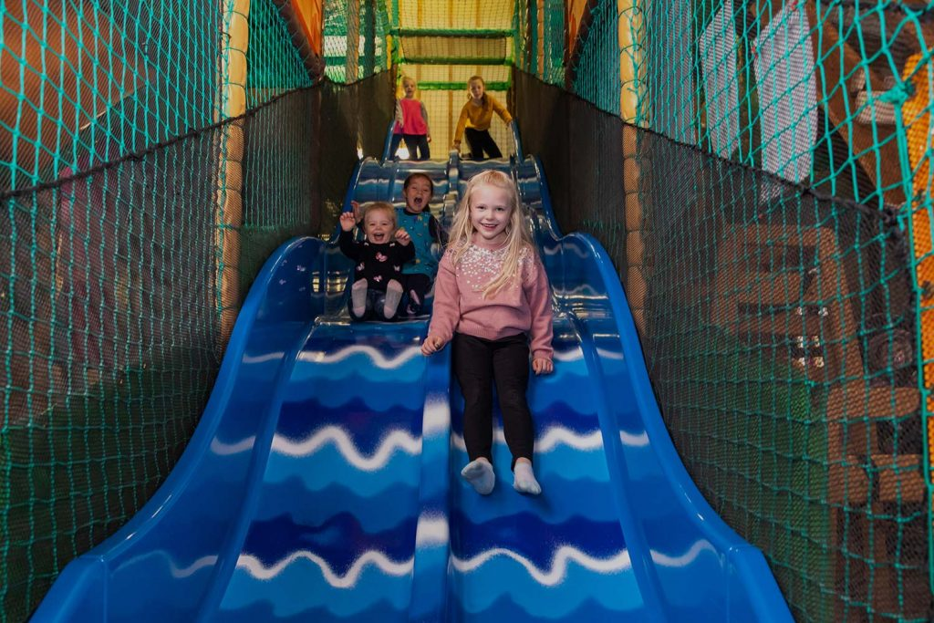 Woodbarn soft play area for young children