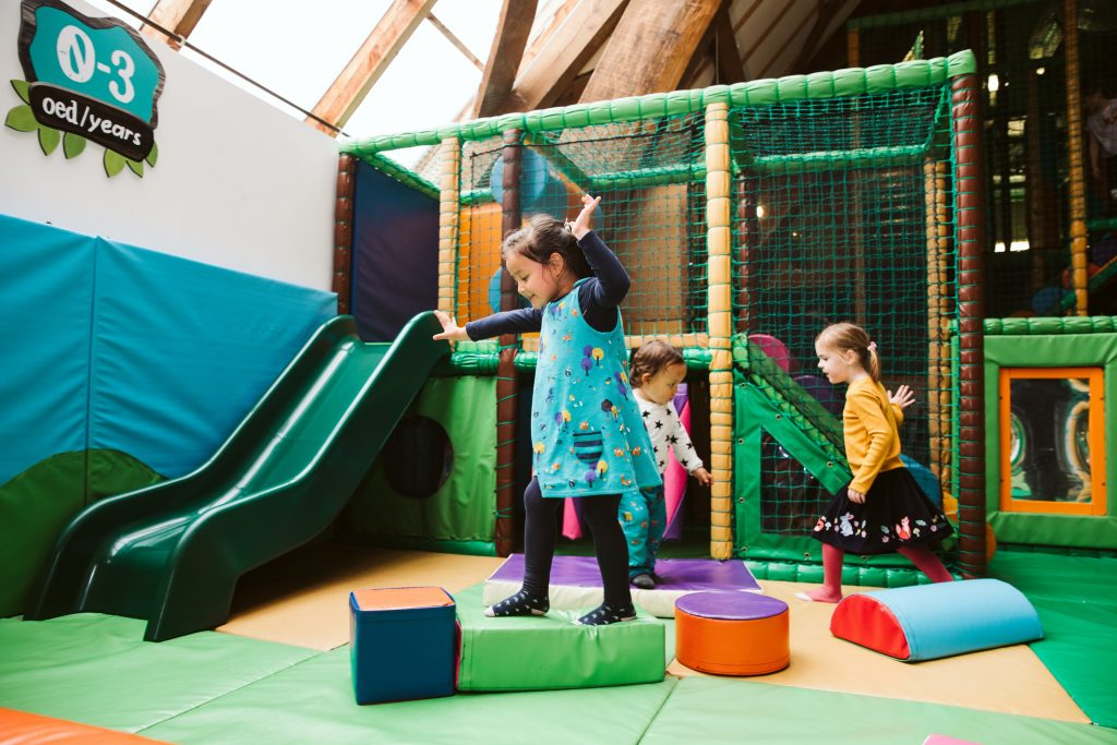Woodbarn soft play area for toddlers